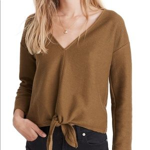 Madewell texture and thread mossy green